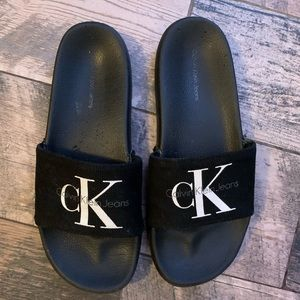 Real Calvin Klein slides